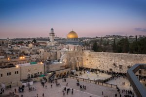 Western Wall after Sunset