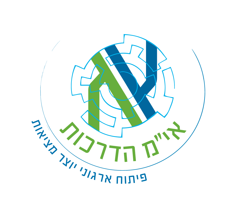 """לוגו אי""""מ הדרכות"""